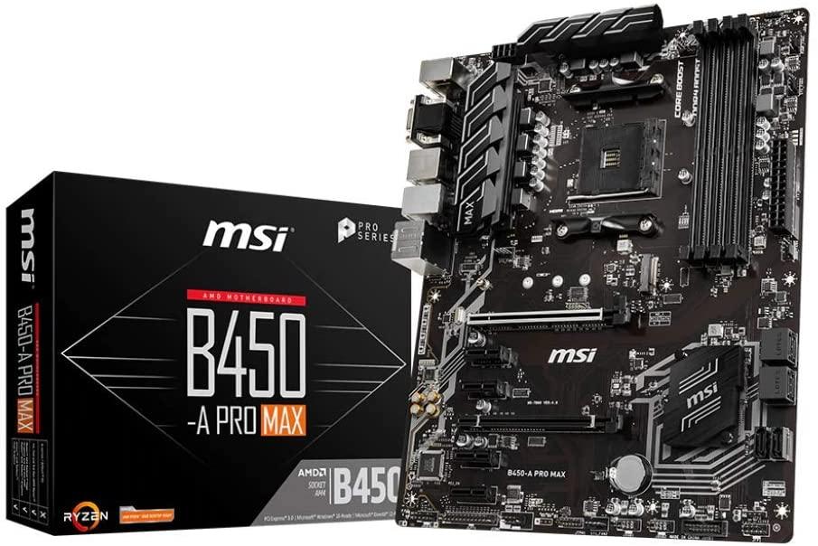MSI B450-A Pro Max @ amazon.nl