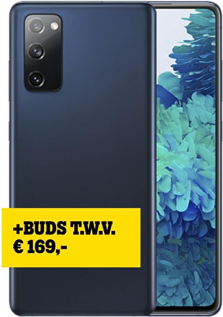 Samsung Galaxy S20 FE 4G + Gratis Galaxy Buds+ t.w.v. €104,95 (2-jarig abonnement)
