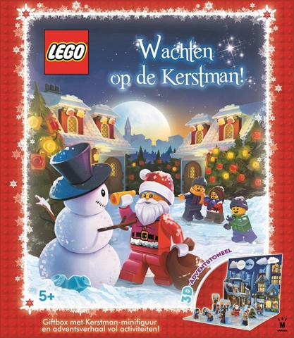 Gratis LEGO Giftbox met Kerstman-minifiguur en adventsverhaal (minimale besteding €70)
