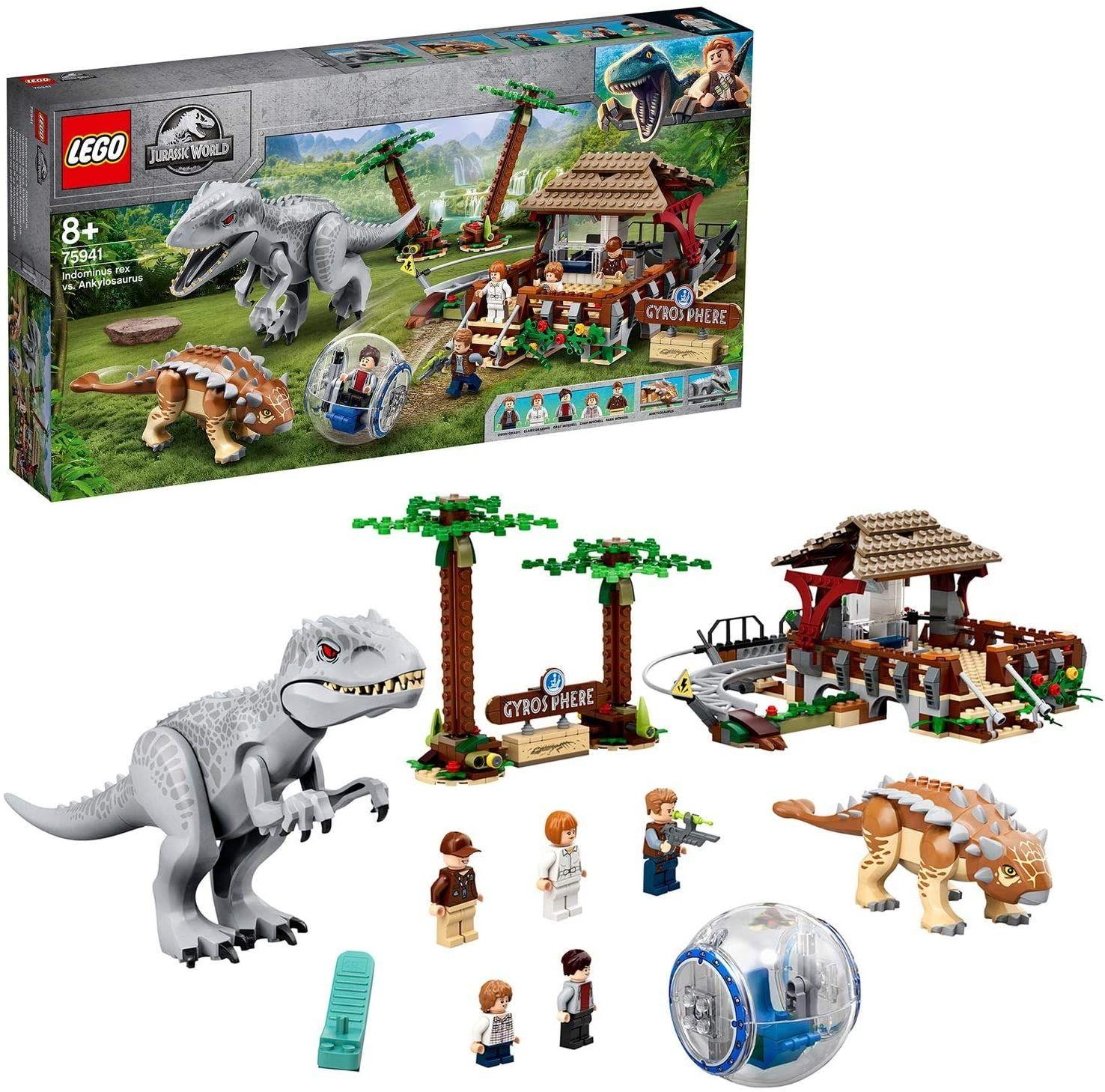 Lego Jurassic World Indominus Rex vs. Ankylosaurus (75941)