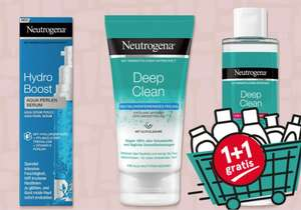 Neutrogena 1+1 gratis