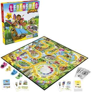 Hasbro Levensweg Junior bordspel voor €4,36 @ Amazon.nl