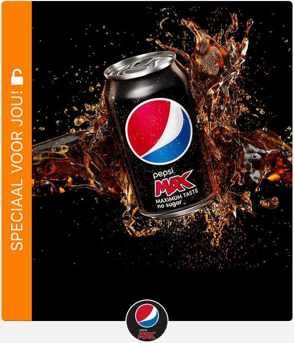Opnieuw GRATIS Pepsi Max 33 cl @ Scoupy