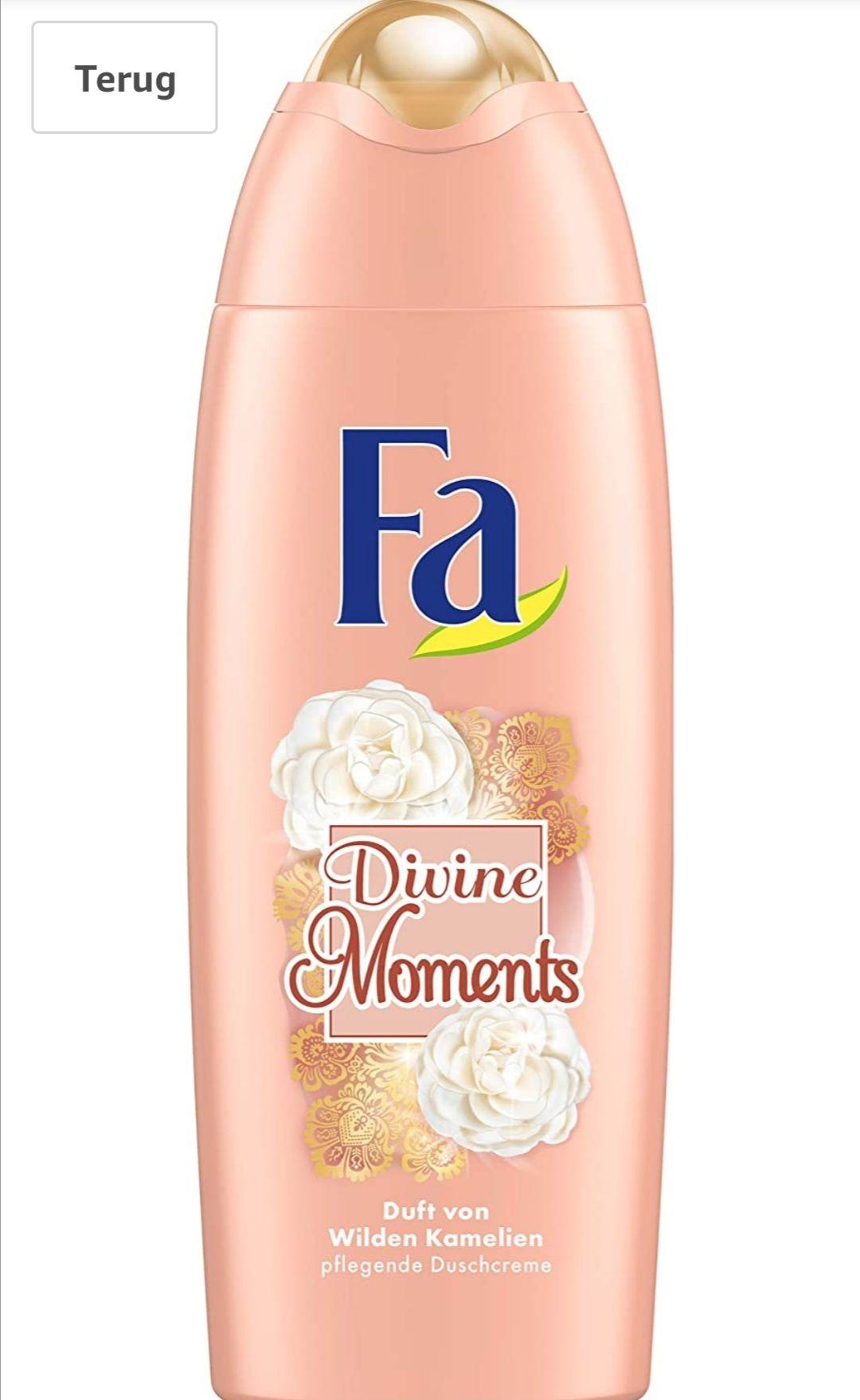 Fa Divine moments douchegel 6x