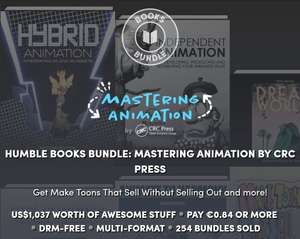 Humble Books Bundle: Mastering Animation by CRC Press