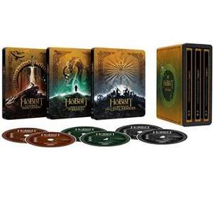 The Hobbit Trilogie 4K Steelbook (Franse Versie)