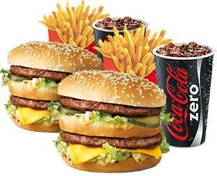 2 Medium Voordeelmenu's voor maar €6 @McDonalds