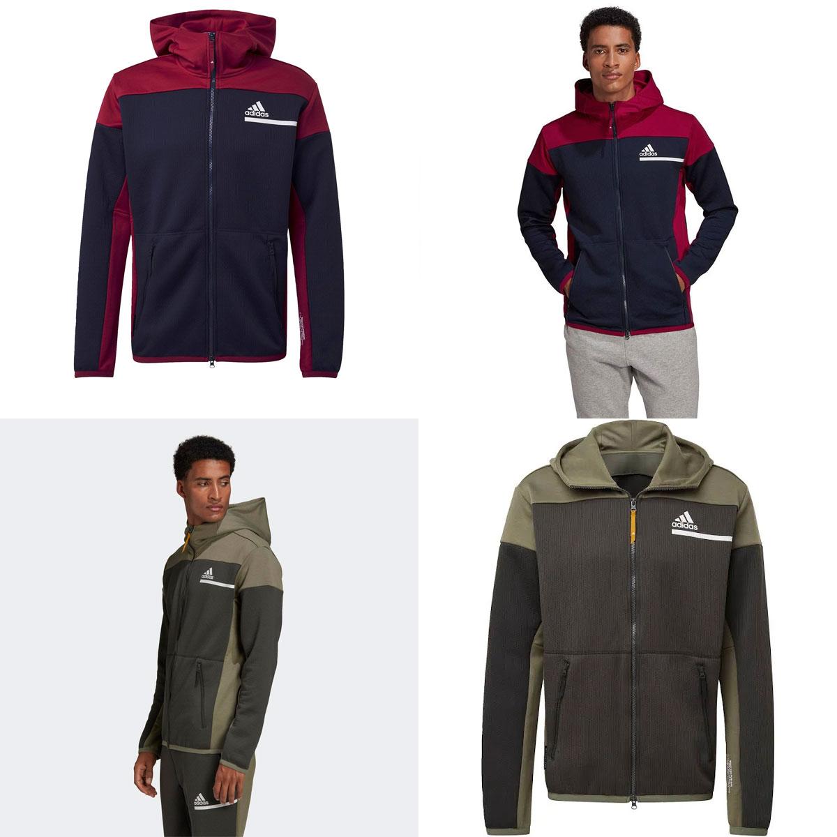 adidas ZNE Aeroready hoodie met rits - 2 kleuren @ Geomix