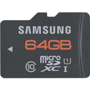 Samsung 64GB Class 10 MicroSDXC  voor €30,40 @ Amazon.co.uk