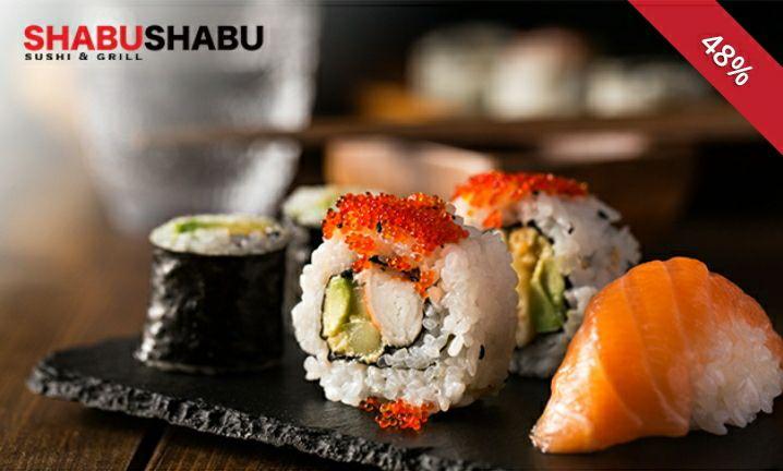 Sushi box 24 of 40 stuks via social deal