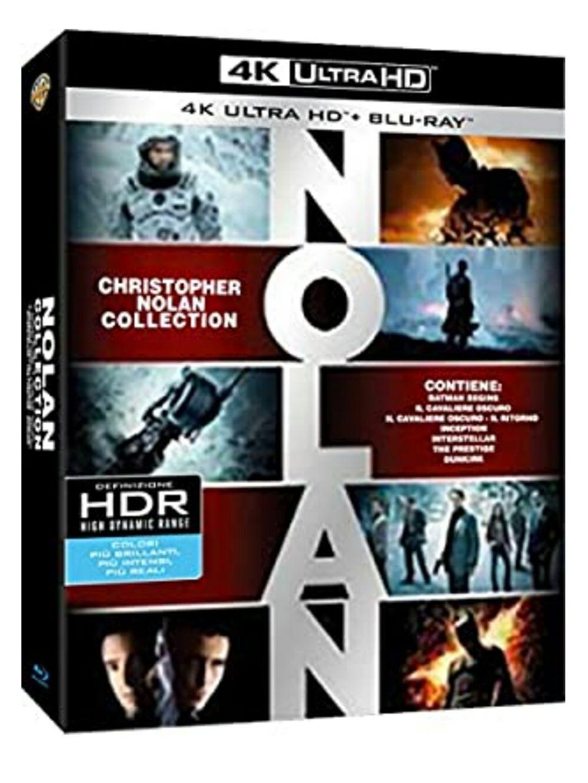 Christopher Nolan 4K Blu-ray Collection