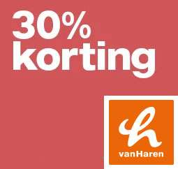 SALE: meer dan 250 schoenen -30% @ Van Haren