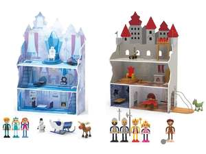 Playtive Junior poppenhuis - frozen of ridderkasteel (incl. accessoires)