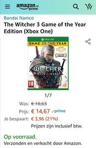 [XBOX ONE/PS4] The Witcher 3 Wild Hunt Game of the Year Edition