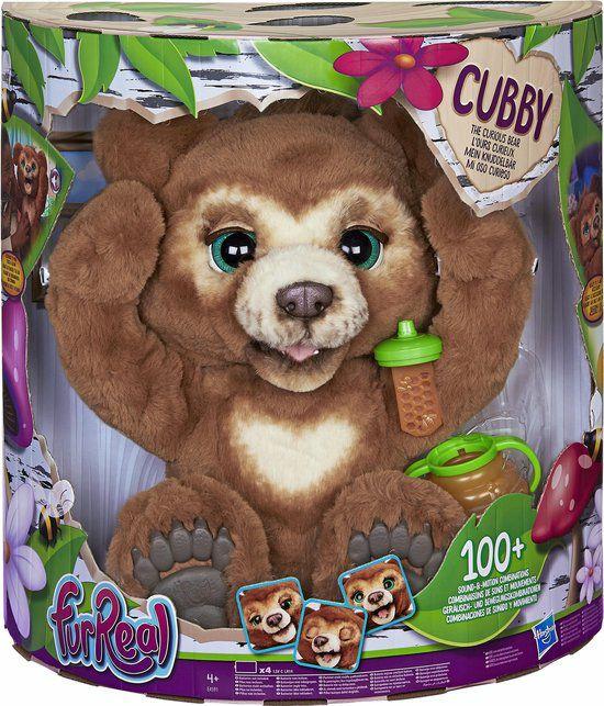 [Select] FurReal Cubby de Beer - en andere Interactieve Knuffels