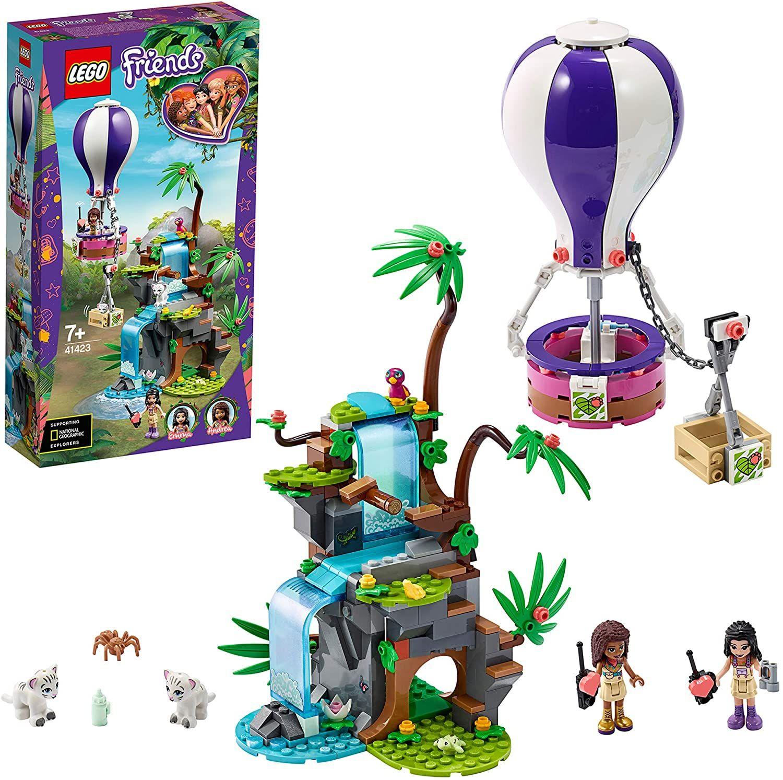 Lego Friends: Tijger reddingsactie met luchtballon (41423)