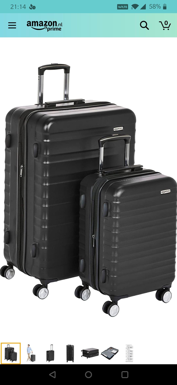 bagage koffer met ingebouwd TSA-slot - 2-delige+ andere acties 1 en 3 delige.