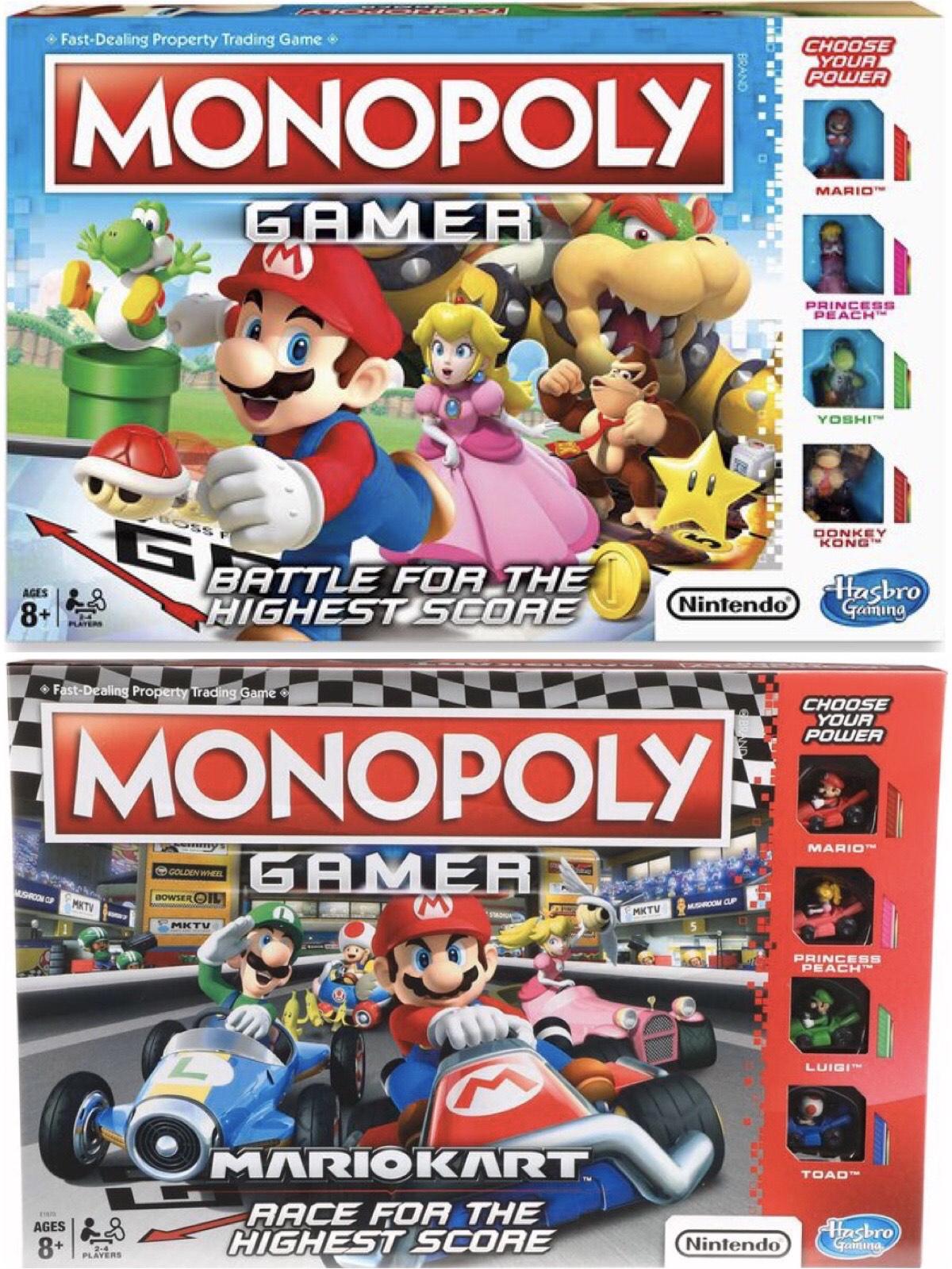 Monopoly Gamer Mario of Mario Kart Bordspel