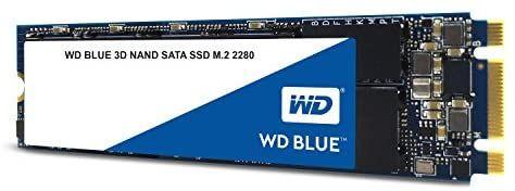 Western Digital WDS100T2B0B Blauw SSD 3D Nand 1 TB M.2 (Dagdeal)