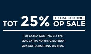 Stapelkorting - tot 25% EXTRA - op alle sale + 2e jeans -30% EXTRA @ Score