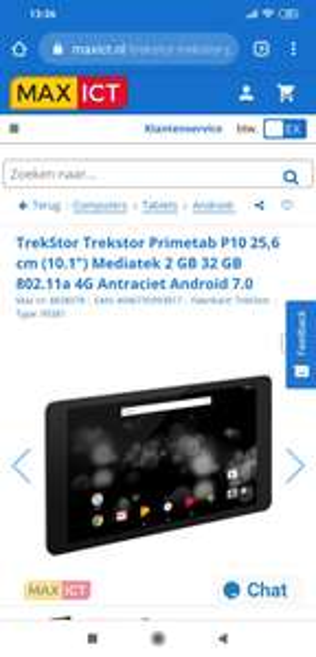 TrekStor Trekstor Primetab P10