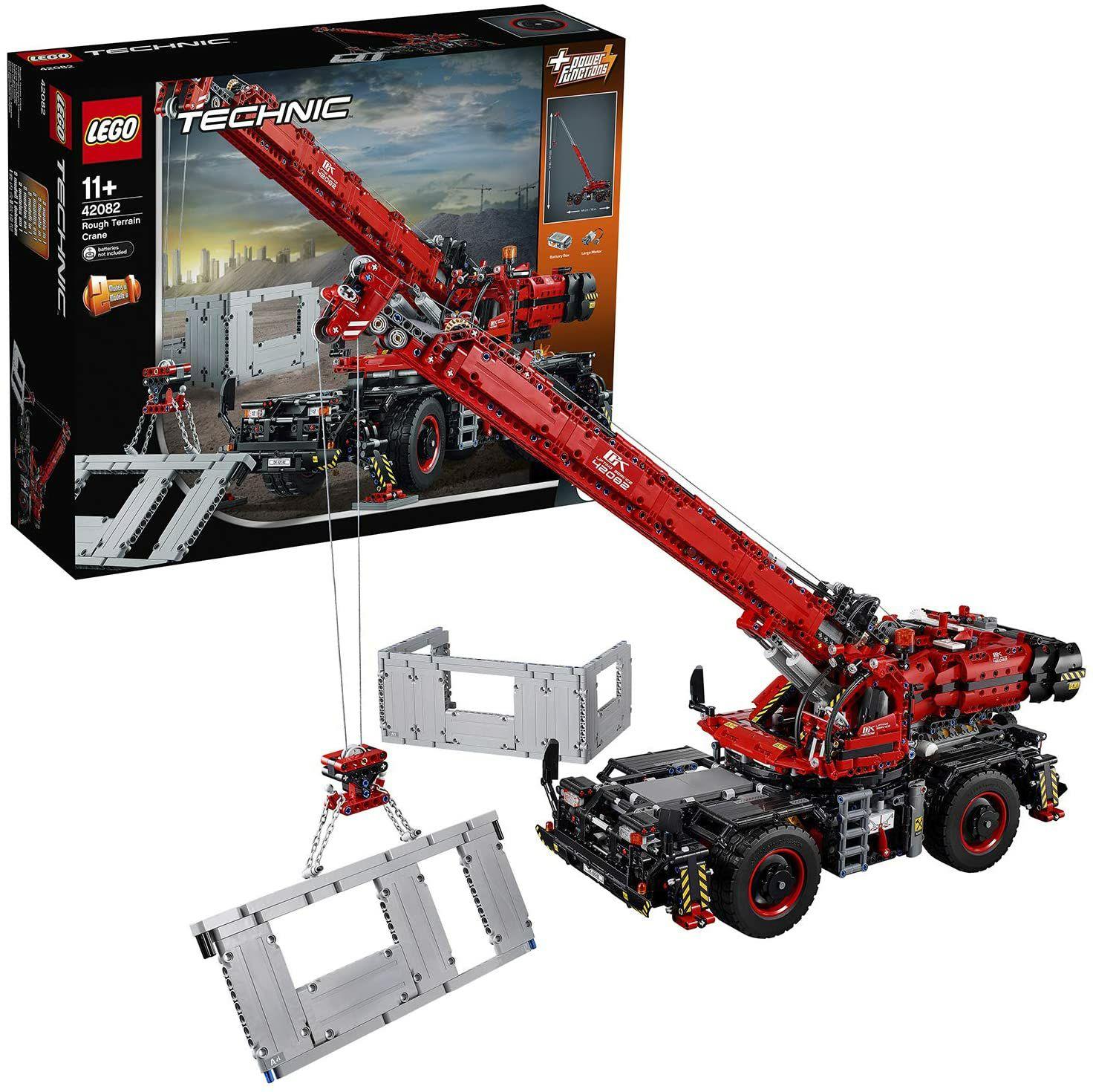 LEGO Technic 42082 Terrein kraanwagen