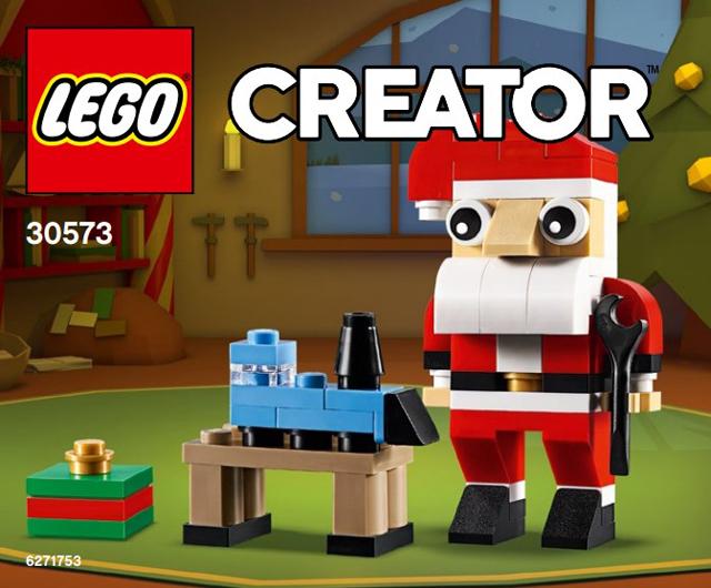 LEGO 30573 Kerstman (Polybag) gratis bij minimale besteding van €70