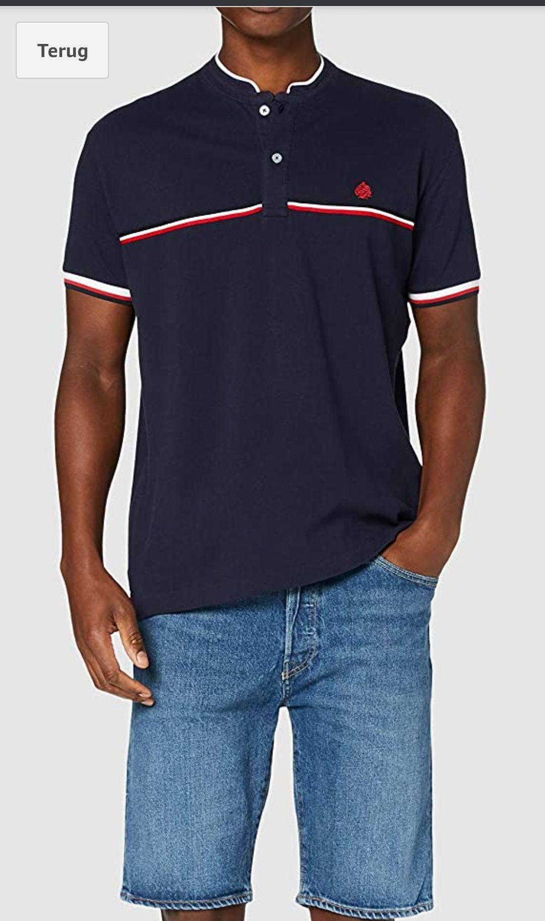 Springfield Heren Poloshirt Blauw