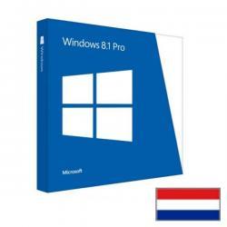 Windows 8.1 Professional NL met gratis upgrade naar Windows 10 Pro. Elders 130 euro