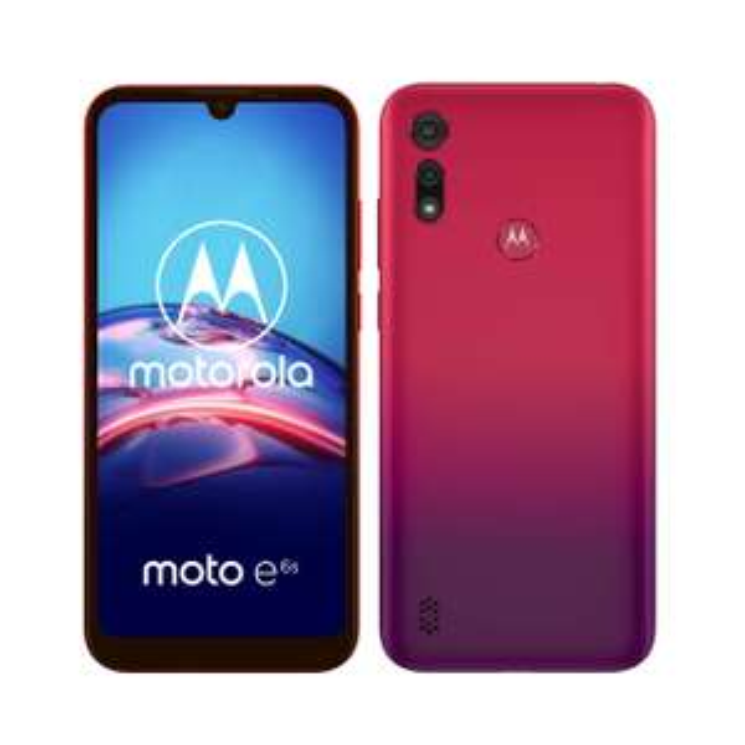 Moto e6s - Sunrise Red (Dual SIM) Smartphone @ Lenovo Store