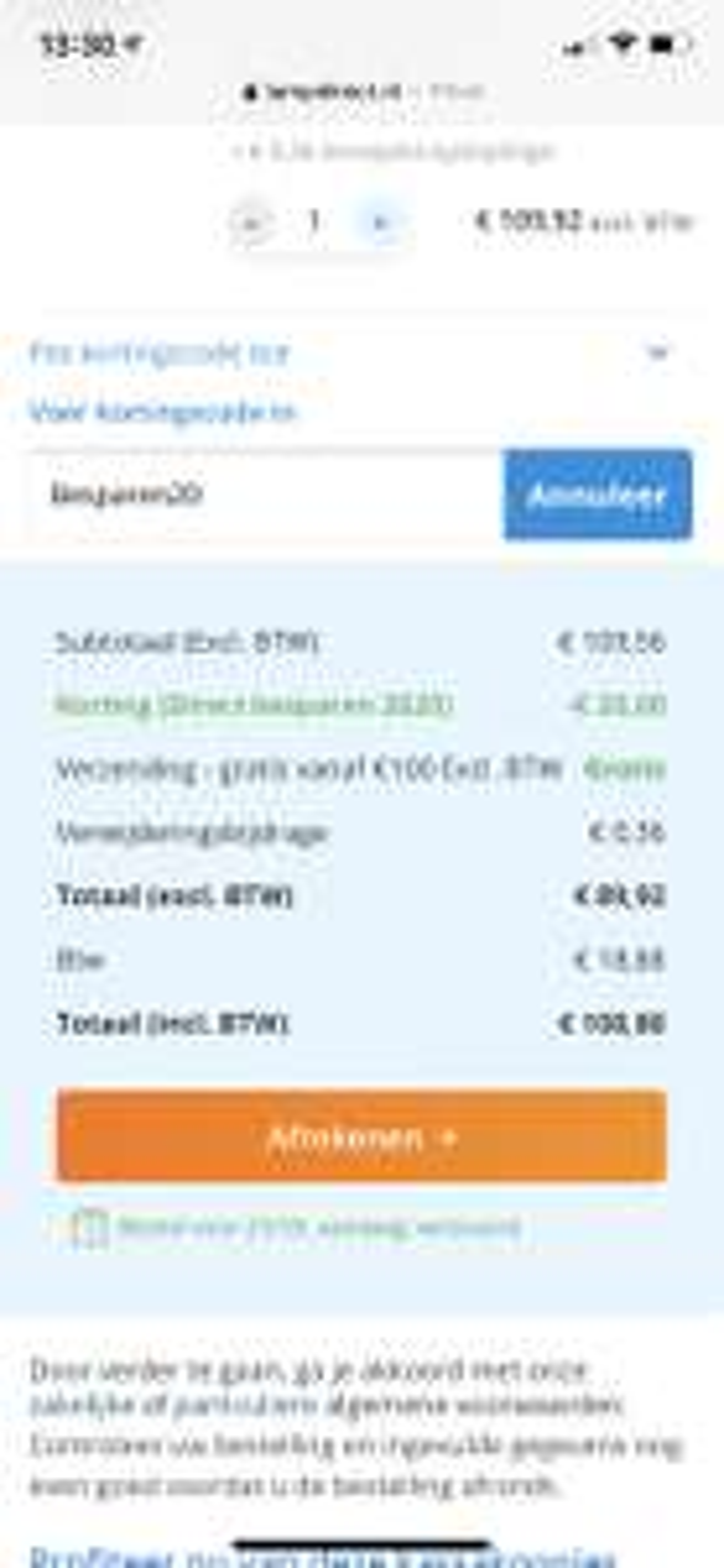 €20 korting bij Lampdirect.nl