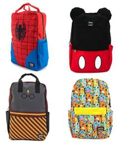 30% korting op Loungefly tassen (O.a. Disney, Harry Potter, Pokémon, Marvel en Star Wars)