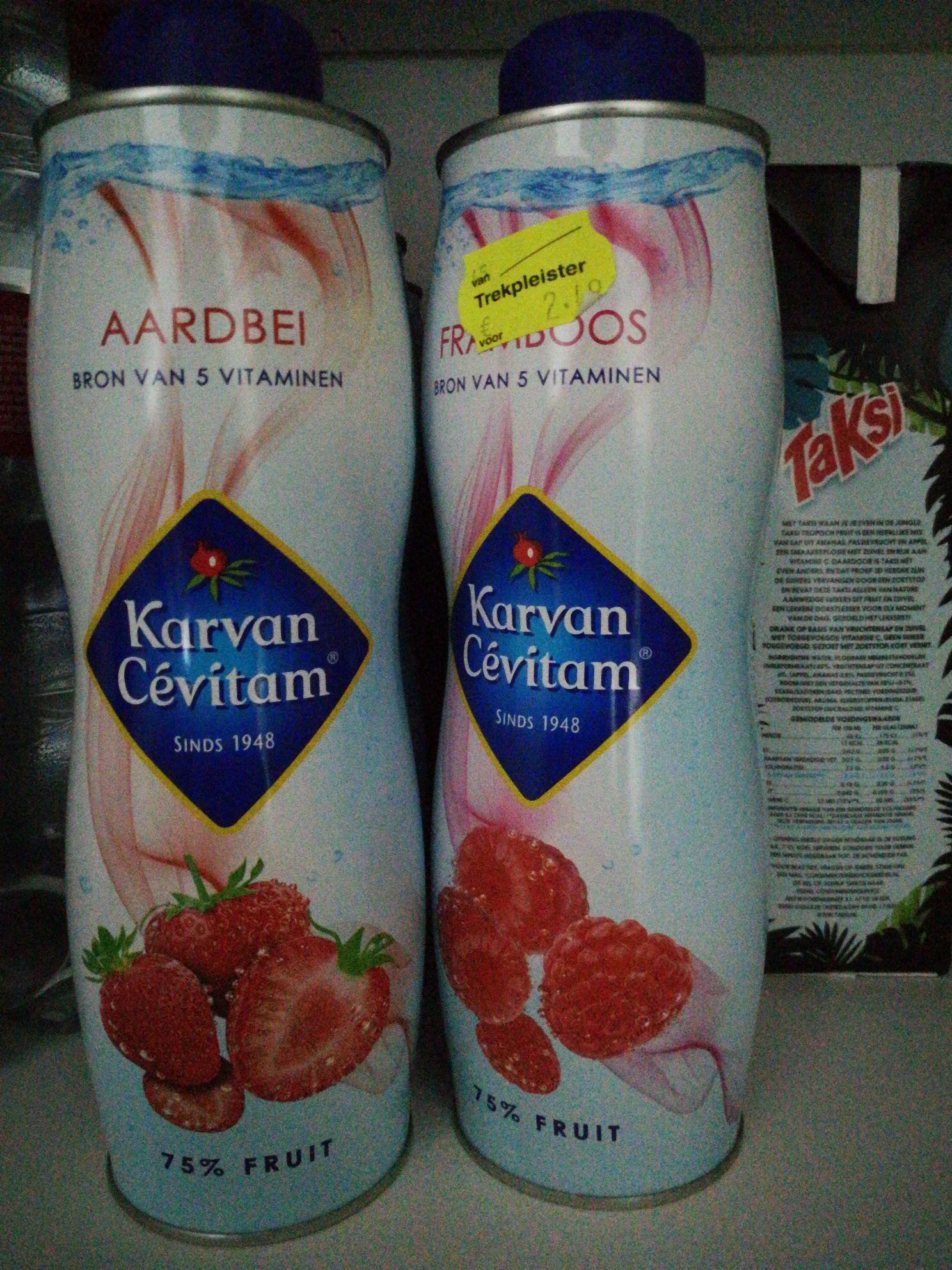 2 flessen karvan cevitam voor 2.49 bij trekpleister Sliedrecht