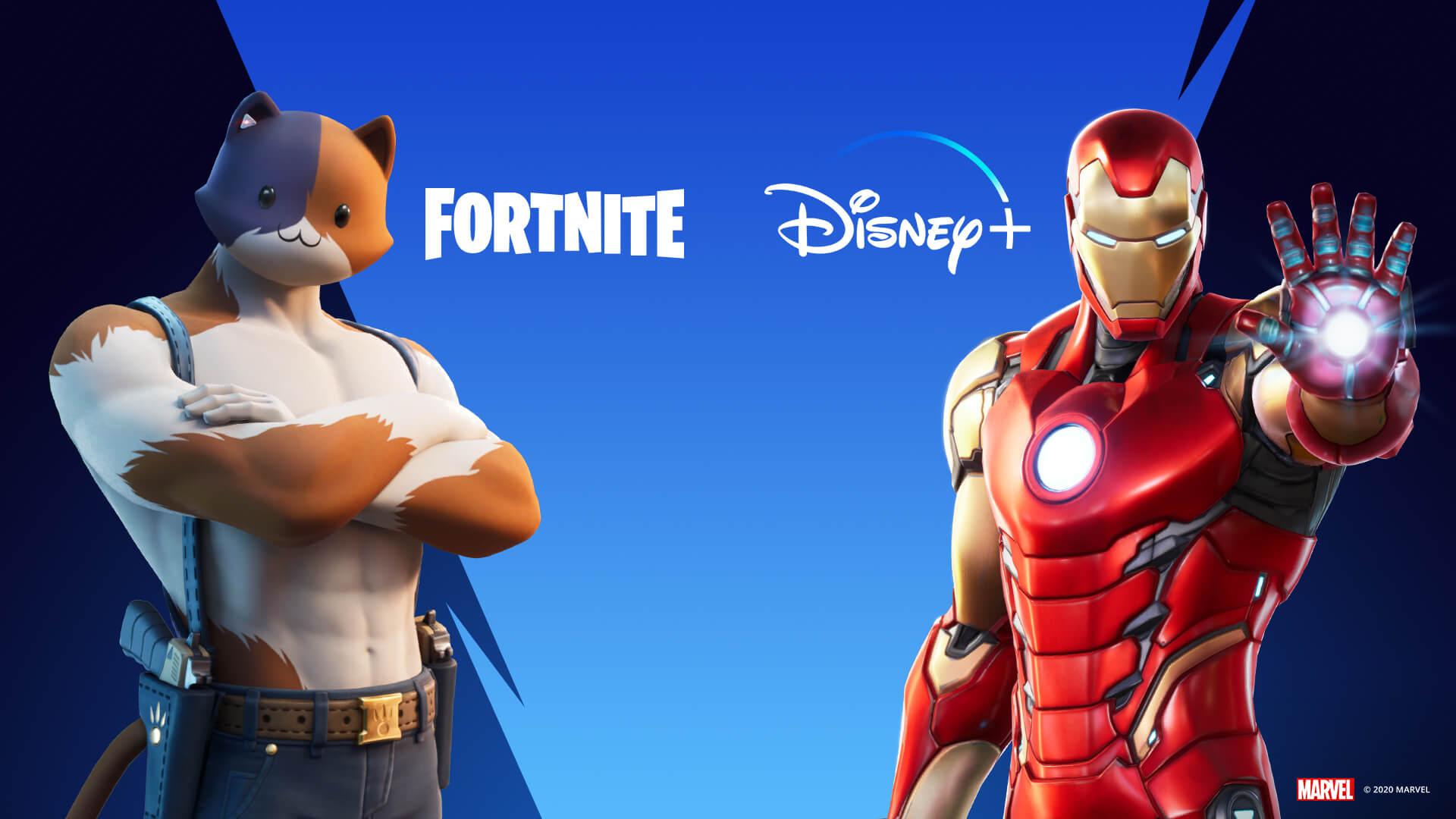 Fortnite x Disney+ 2 maanden gratis