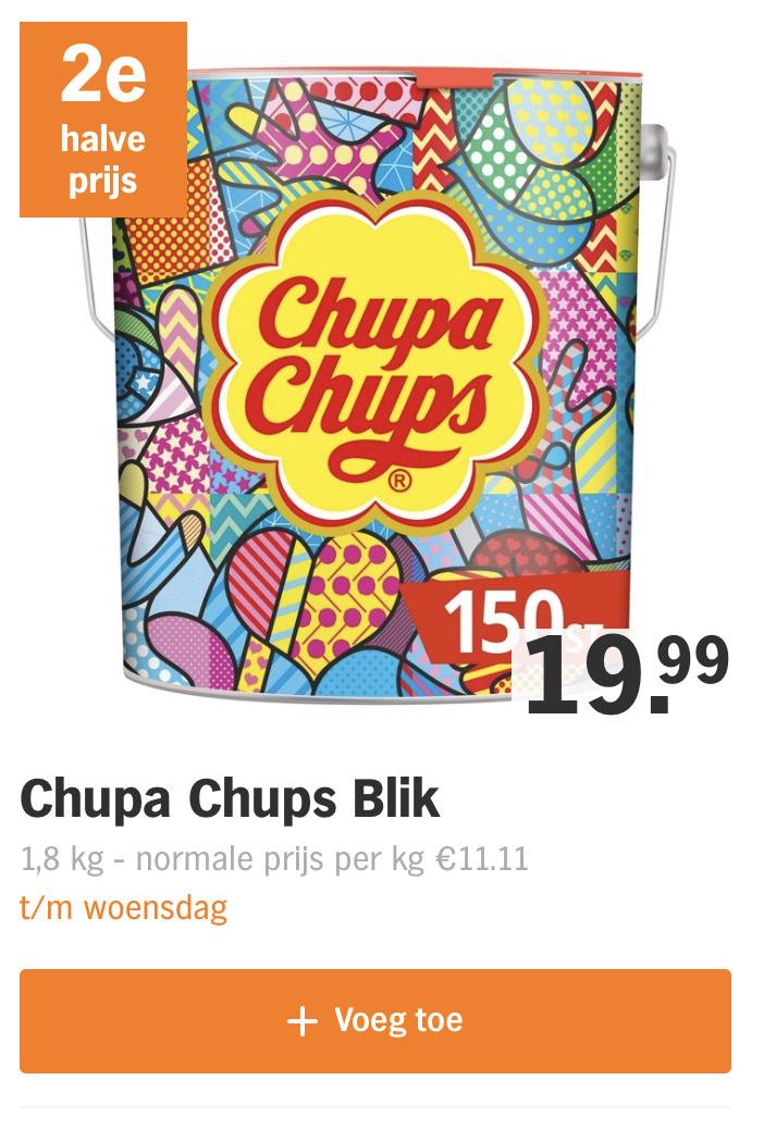 300 ChupaChups voor 29,99