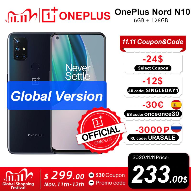 Oneplus Nord N10 5G 215 euro op 11 November (EU Warehouse)