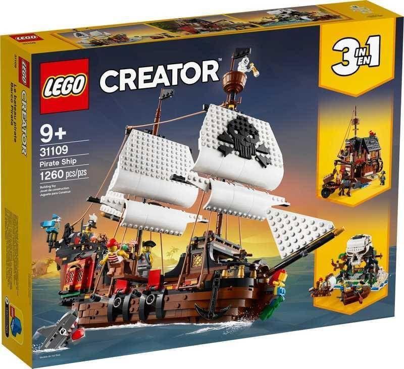 LEGO Creator Piratenschip (31109)