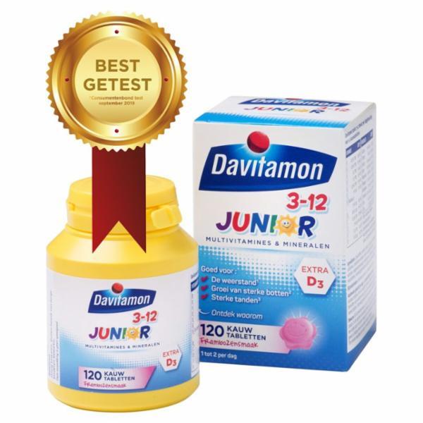 1 + 1 GRATIS op Davitamon vitamine bij Kruidvat