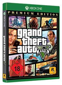 Grand Theft Auto V Premium Edition - (Xbox One) @ Amazon.de