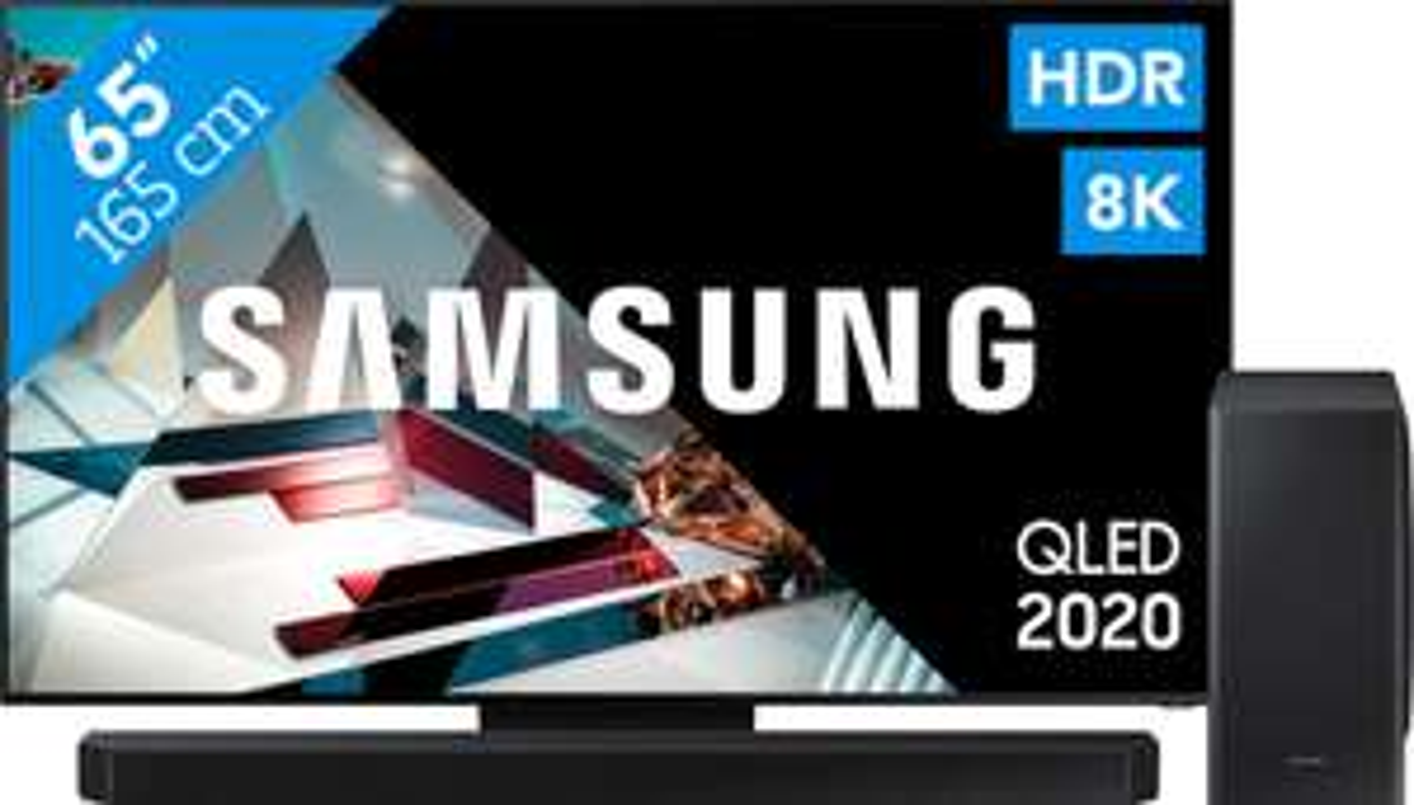 "[BE] Samsung 65"" 8K QLED Q800T + Soundbar Q800T Dolby Atmos"