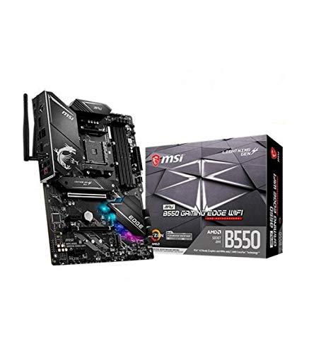 MSI MPG B550 Gaming Edge WiFi AMD AM4 DDR4 M.2 USB 3.2 Gen 2 WLAN 6 HDMI ATX moederbord