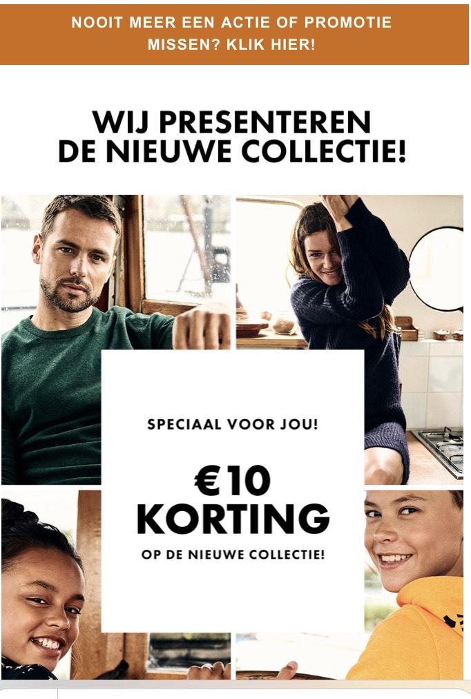 €10 korting bij WE Fashion