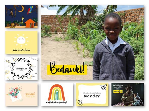 Gratis 8 ansichtkaarten @ Light for the World