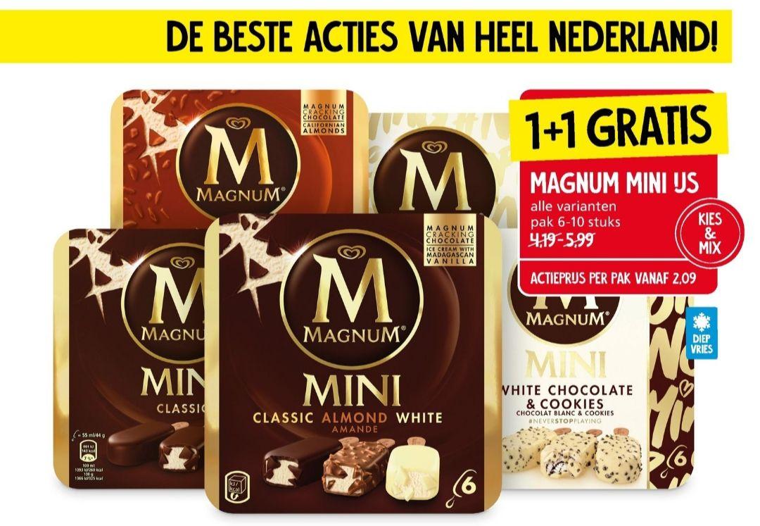 [Vanaf 9 November] Magnum MINIS 1+1 gratis @Janlinders