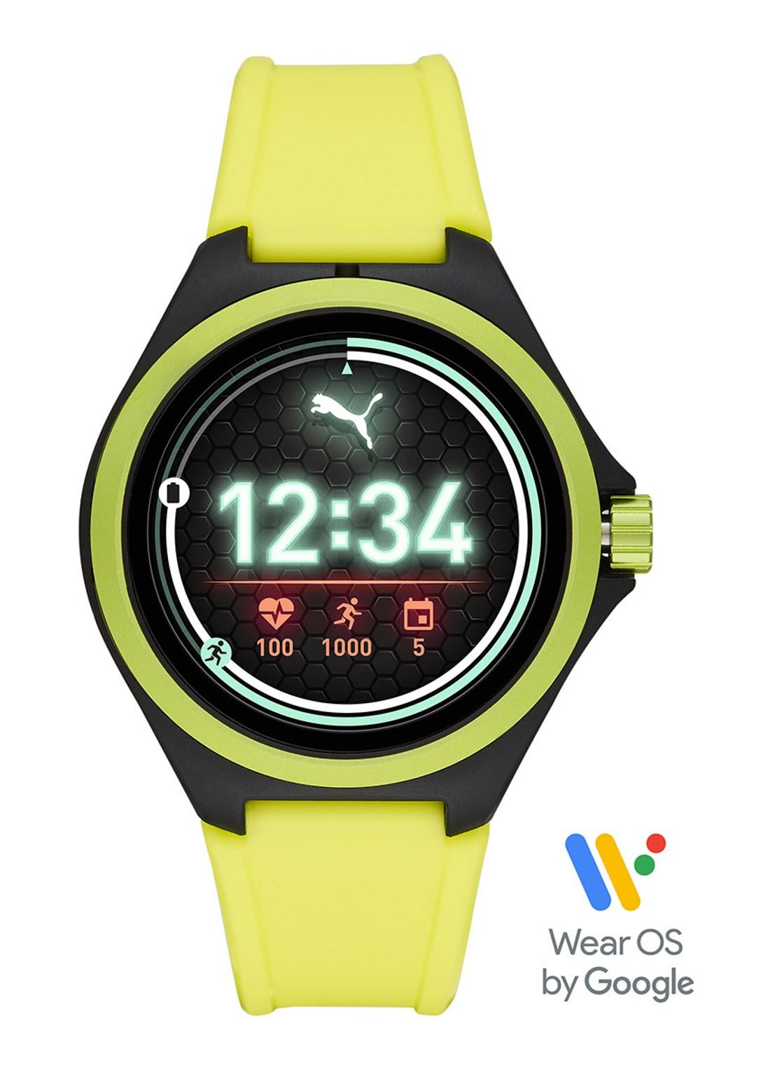 Bijenkorf PUMA Gen 4S Display Smartwatch PT9101 - Geel