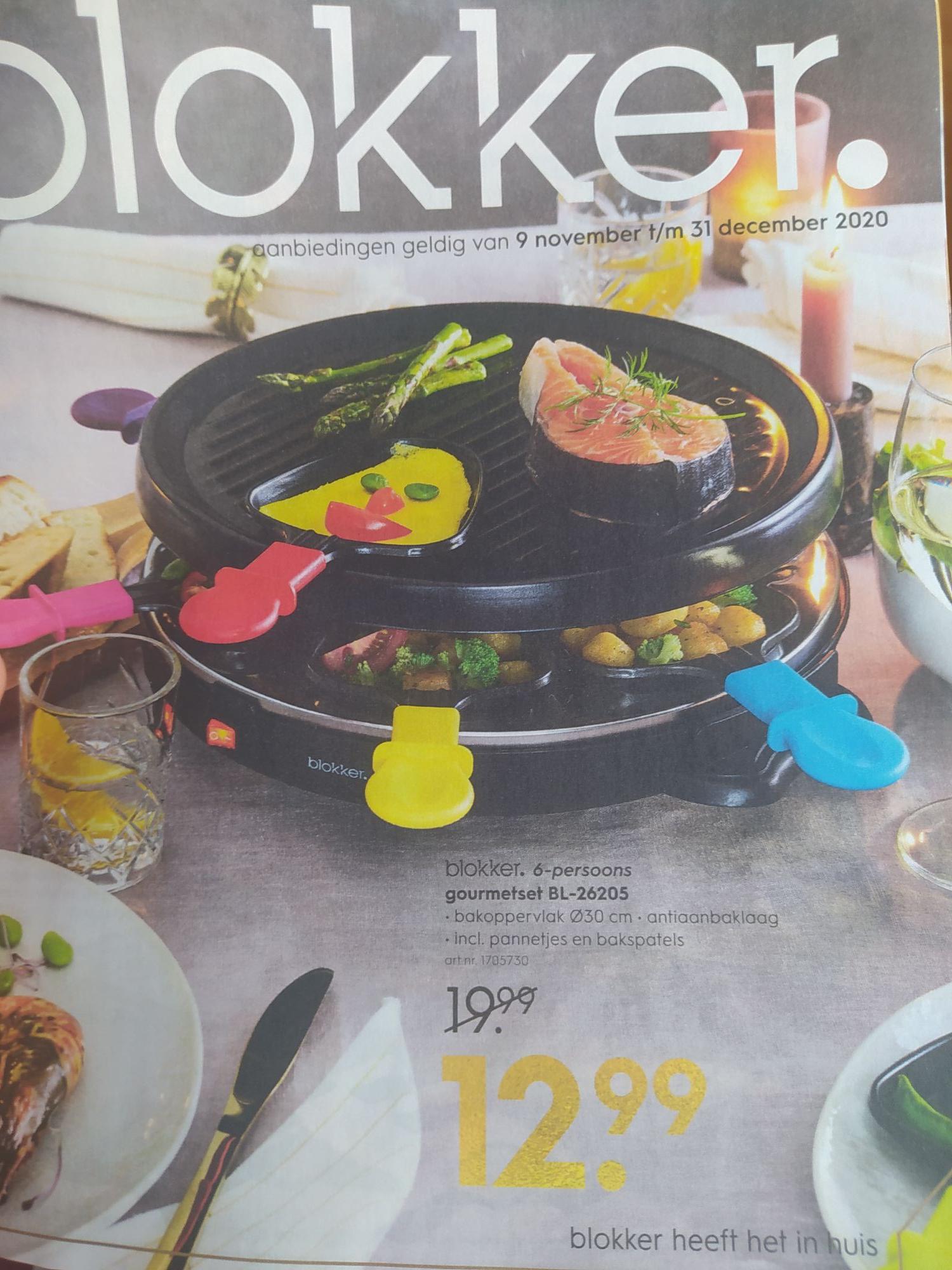 Blokker gourmetset BL26205 12.99