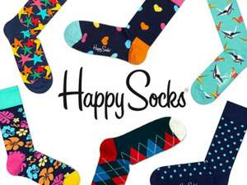 Happy Socks 2.99 , 2 paar voor 4.99 - Kruidvat