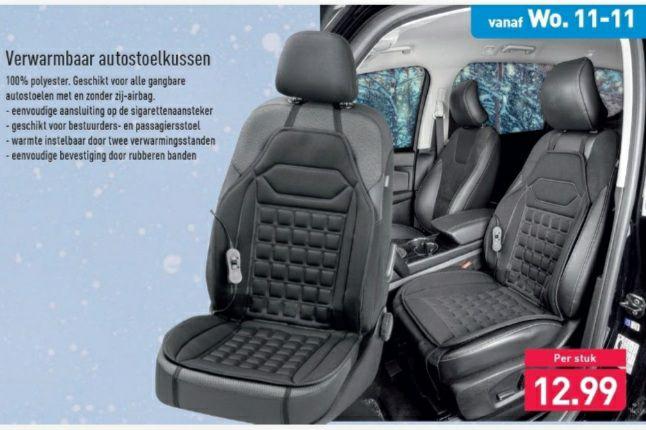 ALDI - Verwarmbaar autostoelkussen