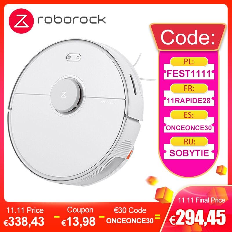 2020 Roborock S5 Max Robot Stofzuiger/Dweiler 2 in 1 (verzending EU)