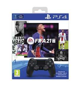 Sony DualShock 4 V2 + FIFA 21 + 14 dagen PS plus @ Game Mania